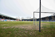 The pitch at Gigg Lane deemed playable before the Sky Bet League 1 match between Bury and Walsall at Gigg Lane, Bury, England on 16 January 2016. Photo by Mark Pollitt.