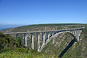 Bloukrans Bridge is an arch bridge located near Nature's Valley, Western Cape, South Africa.