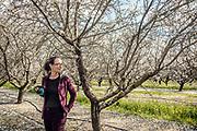 California, a smal almond producer