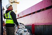Docking of the Boa Sub C Multi purpose Offshore Vessel