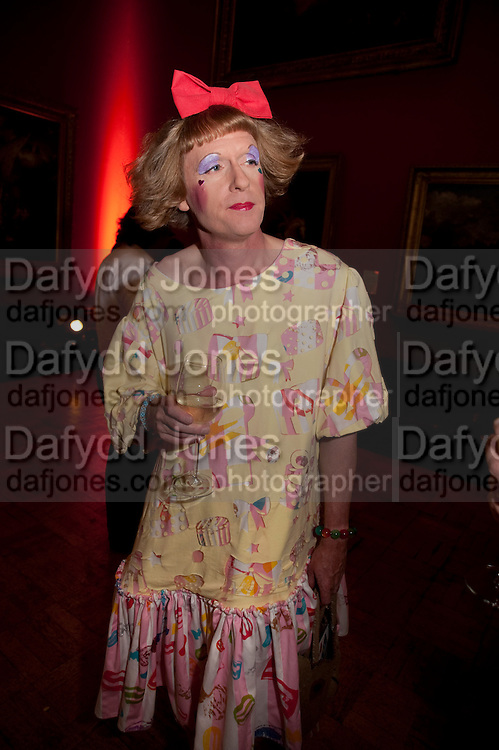 GRAYSON PERRY, Tate Britain Summer Party 2009. Millbank. London. 29 June 2009