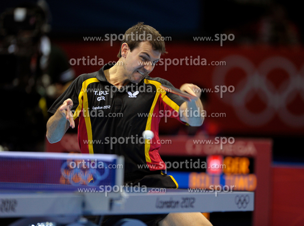 Olympic Games London 2012, Table Tennis Team.Timo Boll (GER) .© pixathlon