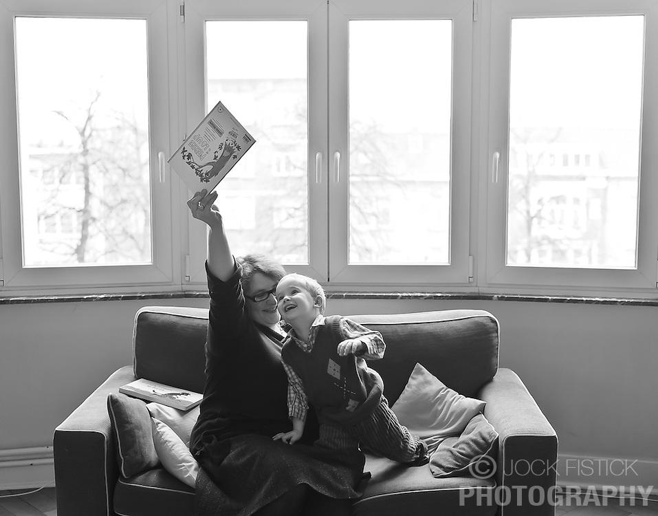 The Le Blévennec - van Geelen family. (Photo © Jock Fistick)