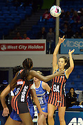 Mainland Tactix Bailey Mes in action during the 2016 ANZ Championship, Northern Mystics vs Mainland Tactix, The Trusts Arena, Auckland, New Zealand. Saturday 02 July 2016. Photo: Raghavan Venugopal / www.photosport.nz