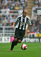 Photo: Andrew Unwin.<br />Newcastle United v Wigan Athletic. The Barclays Premiership. 19/08/2006.<br />Newcastle's Stephen Carr.