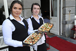 Pictured at the Mid-Summer Banquet at Westport Food Festival at Wesport House.<br />
