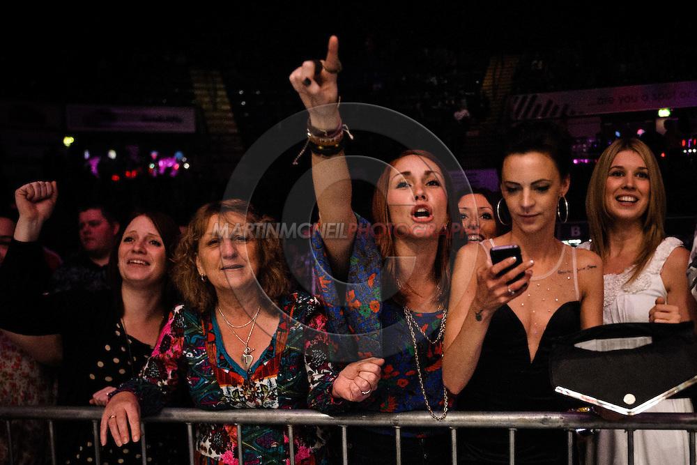 "NOTTINGHAM, ENGLAND, DECEMBER 10, 2011: Mixed martial arts action during ""BAMMA &: Manuwa vs. Rea"" inside Capital FM Arena in Nottingham, England on December 10, 2011"