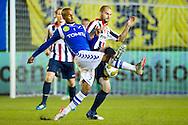 AGOVV - Willem II Jupiler League seizoen 2011-2012<br /> Oud Willem II-er Junior Livramento in duel met Hans Mulder<br /> Foto: Geert van Erven