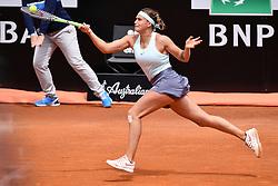May 14, 2019 - Roma, Italia - Foto Alfredo Falcone - LaPresse.14/05/2019 Roma ( Italia).Sport Tennis.Internazionali BNL d'Italia 2019.aryna Sabalenka (blr) vs alize Cornet (fra).Nella foto:aryna Sabalenka..Photo Alfredo Falcone - LaPresse.14/05/2019 Roma (Italy).Sport Tennis.Internazionali BNL d'Italia 2019.aryna Sabalenka (blr) vs alize Cornet (fra).In the pic:aryna Sabalenka (Credit Image: © Alfredo Falcone/Lapresse via ZUMA Press)