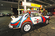 Porsche 911 Safari.Dr. Erik Brandenburg (Brandenburg Racing) competing in the 2007 Transsyberia Rallye