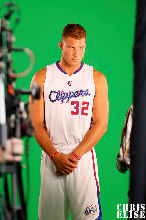 29 September 2014: Blake Griffin is seen during the Los Angeles Clippers Media Day, at Los Angeles Clippers Training Facility, Playa Vista, California, USA.