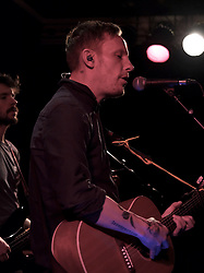 Actor, singer-songwriter and guitarist Laurence Fox performs at the Voodoo Rooms in Edinburgh on 19 February 2020<br /> <br /> Pictured:  Laurence Fox<br /> <br /> Alex Todd | Edinburgh Elite media
