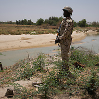 The Komadougou Yob&eacute; river forms a natural border between Nigeria and Niger. It also marks the dividing line between the rebels in north-eastern Nigeria and the people of Niger.<br /> <br /> On March 17, 2016 is this exact spot has started the insurgent attack against Nigerian military positions, causing the death of the attackers as well as the Commander of Bosso and injuries to two soldiers.
