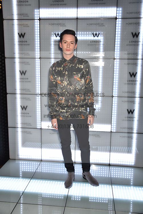 Lorcan London at the official launch of The Perception at W London, 10 Wardour Street, London England. 7 November 2017.<br /> Photo by Dominic O'Neill/SilverHub 0203 174 1069 sales@silverhubmedia.com