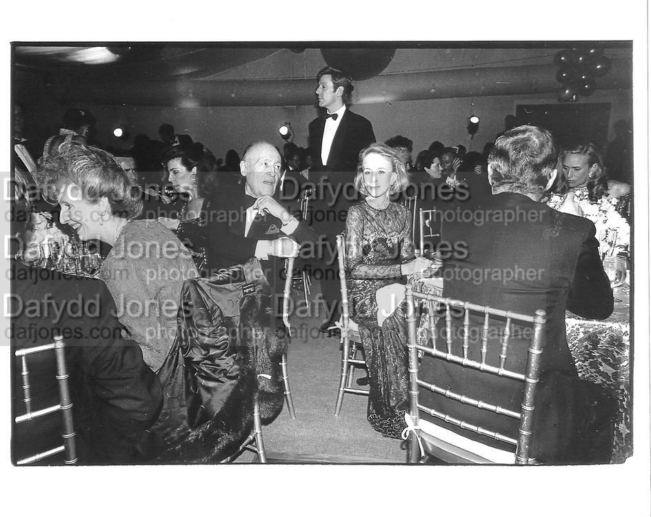 Jerome Zipkin and Anne Bass. Party at Mortimers. NY  1990 approx. © Copyright Photograph by Dafydd Jones 66 Stockwell Park Rd. London SW9 0DA Tel 020 7733 0108 www.dafjones.com