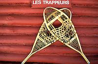 Canada, Province du Quebec, raquettes // Canada, Quebec province, Snowshoe