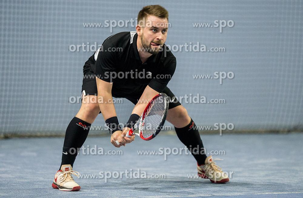 Matej Pavlic, BTC – Medot rekreativni teniški turnir dvojic, on January 13, 2018 in BTC Millenium centre, Ljubljana, Slovenia. Photo by Vid Ponikvar / Sportida
