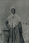 Sojourner Truth, African American abolitionist and champion of women's rights. Born into slavery as Isabella Baumfree (1797-1883) she escaped to freedom in 1826. Changed her name in 1843.