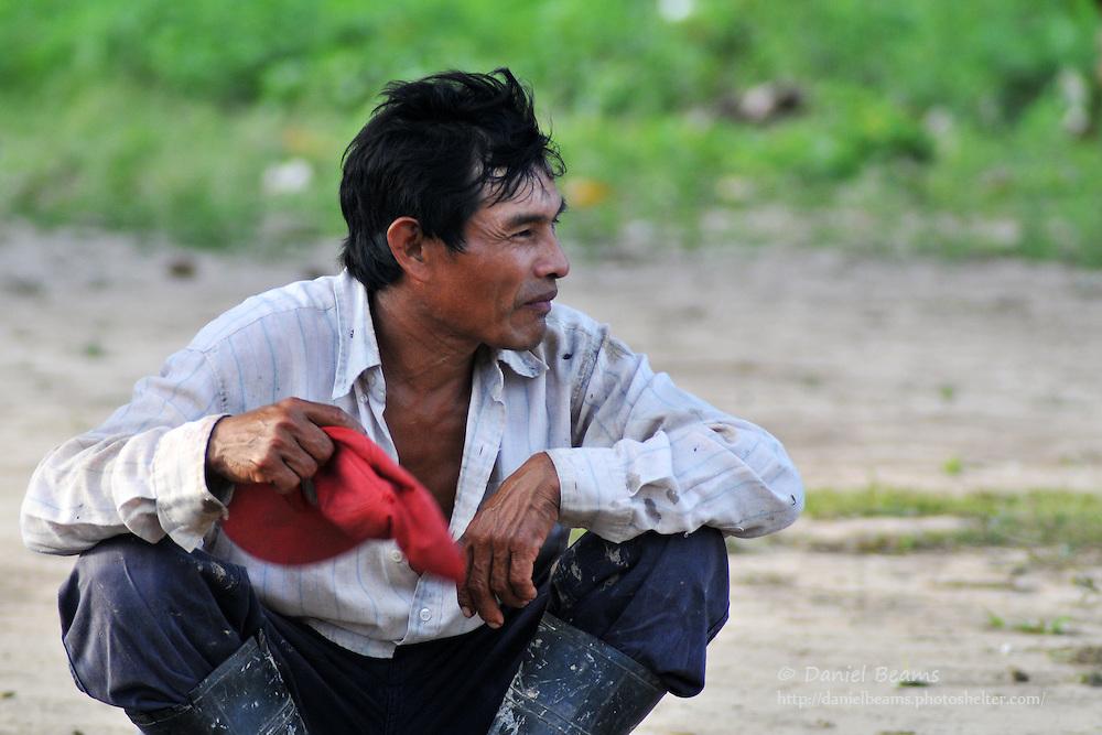 Yuracare man near San Lorenzo, Beni, Bolivia