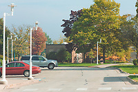 Park Lane streets (Clinch Park, Civic Center) in Traverse City, Michigan on October 9, 2018 (Gary L Howe)
