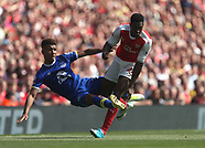 Arsenal v Everton 21 May 2017
