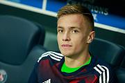Bayern Munich's German goalkeeper Christian Fruchtl sits on the bench during the UEFA Champions League, Group B football match between Paris Saint-Germain and Bayern Munich on September 27, 2017 at the Parc des Princes stadium in Paris, France - Photo Benjamin Cremel / ProSportsImages / DPPI