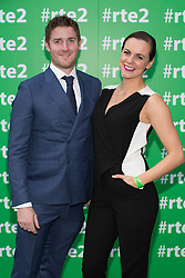Ross Browne and Hilary Rose of The Fear at the RT&Eacute; 2 New Season Launch party in Gateway House, Capel Street. Picture Andres Poveda<br />  pictured at the RT&Eacute; Two New Season Launch in Gateway House, Capel Street. Picture Andres Poveda