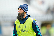 England & Worcestershire All-rounder Moeen Ali   during day 2 of the first Investec Test Series 2016 match between England and Sri Lanka at Headingley Stadium, Headingley, United Kingdom on 20 May 2016. Photo by Simon Davies.