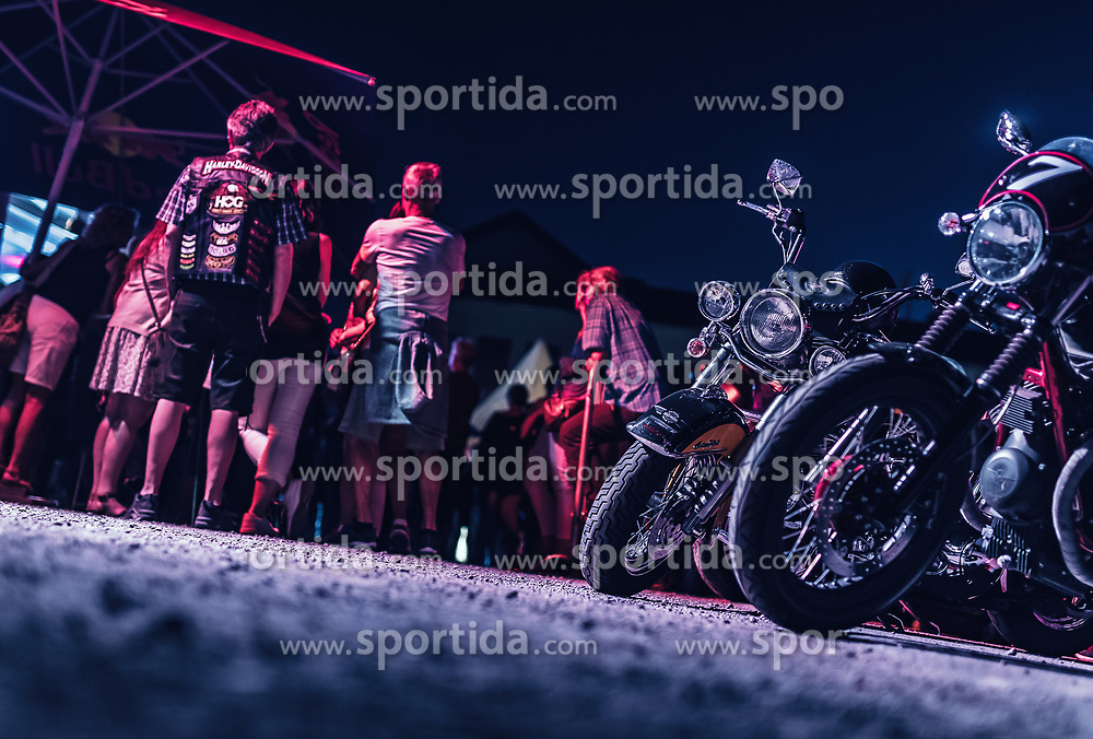 28.06.2019, Schladming, AUT, Rock the Roof 2019, im Bild Motorräder // Bikes during the Rock the Roof Biker Meeting in Schladming, Austria on 2019/06/28. EXPA Pictures © 2019, PhotoCredit: EXPA/ JFK