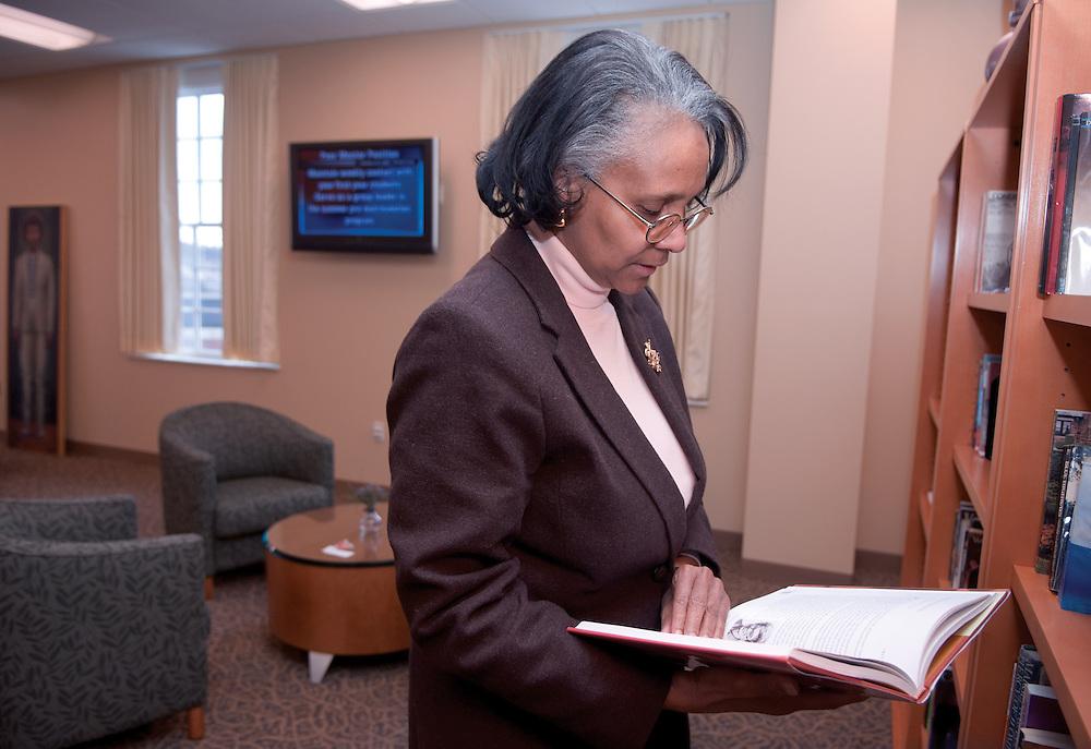 Day in the life of Baker Center...Marlene Jenkins, Women's Center