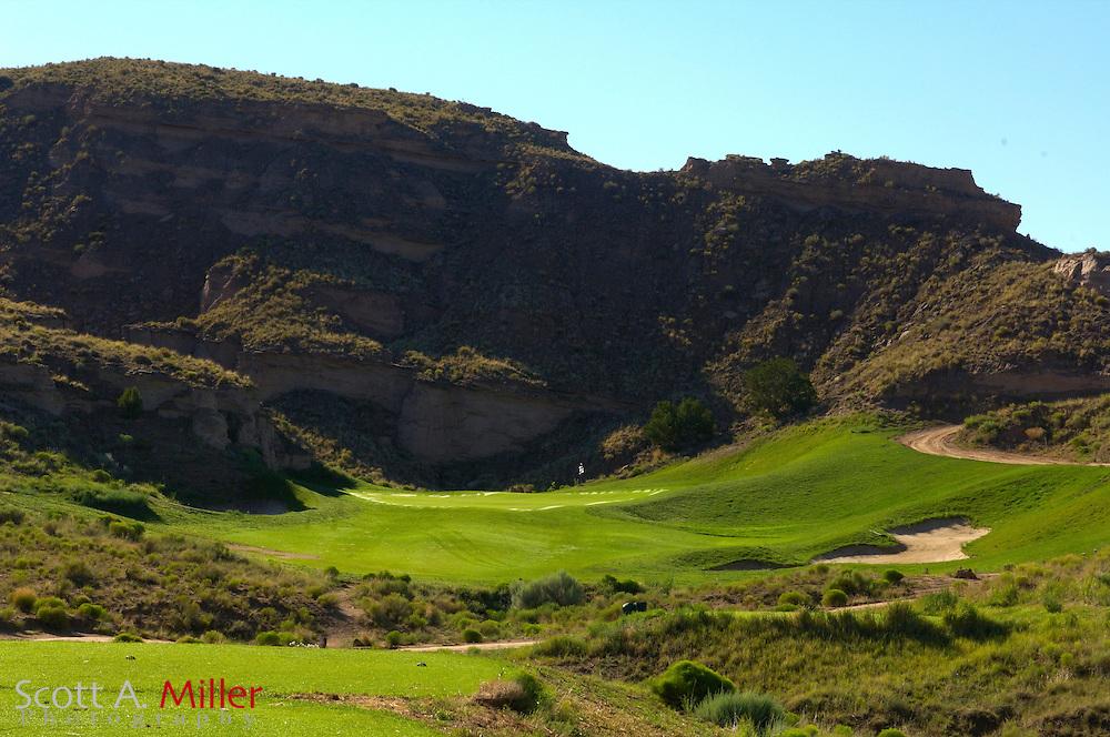 Espanola, N.M.:  July 10, 2006 -  No. 11 on Black Mesa Golf Club in Espanola, N.M...                ©2006 Scott A. Miller