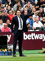 Football - 2017 / 2018 Premier League - West Ham United vs. Swansea City<br /> <br /> Swansea City manager Paul Clement on the touchline, at The London Stadium.<br /> <br /> COLORSPORT/WINSTON BYNORTH