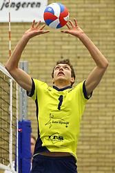 20160130 NED: Volleybal: Inter Rijswijk - Prins VCV, Rijswijk <br />Wessel Keemink of Inter Rijswijk