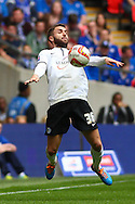 Josh McQuoid of Peterborough United during the Johnstone's Paint Trophy Final match at Wembley Stadium, London<br /> Picture by David Horn/Focus Images Ltd +44 7545 970036<br /> 30/03/2014