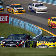 August 10, 2014:  Sprint Cup Series driver Jeff Gordon (24) leads the pack up through the S turns during the Cheez-It 355 at Watkins Glen International, Watkins Glen, NY.  Mandatory Credit: Kostas Lymperopoulos /CSM (Credit Image: © Kostas Lymperopoulos/Cal Sport Media)