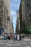 Midtown Manhattan street