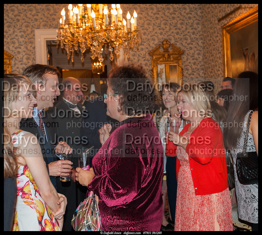 JESSICA LAMBERT; ANTHONY LANE; SOPHIE HANNAH; ALLISON PEARSON, launch of Sophie Hannah's Agatha Christie ' The Monogram Murders ' at the Ritz London. 8 September 2014