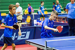 (Team ITA) PARENZAN Matteo in action during 15th Slovenia Open - Thermana Lasko 2018 Table Tennis for the Disabled, on May 10, 2018 in Dvorana Tri Lilije, Lasko, Slovenia. Photo by Ziga Zupan / Sportida