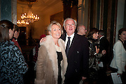 LADY MYNERS; LORD MYNERS, Opening of David Hockney ' A Bigger Picture' Royal Academy. Piccadilly. London. 17 January 2012