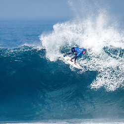 Owen Wright of Australia finished 9th after placing second in Heat 2 of Round Five at the Rip Curl Pro Bells Beach.