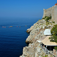 Café Buža Seaside Bar in Dubrovnik, Croatia<br />