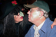 Halloween greetings by the witch at the Calderwood Lodge Super Club  Luck Wisconsin USA