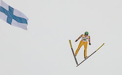 03.03.2017, Lahti, FIN, FIS Weltmeisterschaften Ski Nordisch, Lahti 2017, Nordische Kombination, Team Sprint, Skisprung, im Bild Ilkka Herola (FIN) // Ilkka Herola of Finland during Skijumping of Nordic Combined Team Sprint of FIS Nordic Ski World Championships 2017. Lahti, Finland on 2017/03/03. EXPA Pictures © 2017, PhotoCredit: EXPA/ JFK