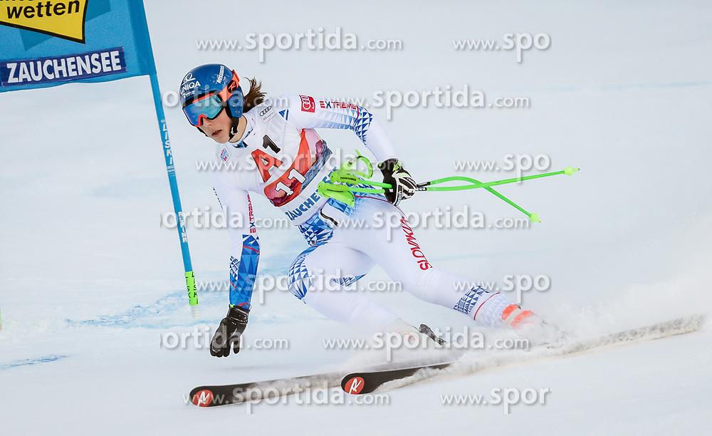 12.01.2020, Keelberloch Rennstrecke, Altenmark, AUT, FIS Weltcup Ski Alpin, Alpine Kombination, Super G, Damen, im Bild Petra Vlhova (SVK) // Petra Vlhova of Slovakia (DNF) during the women's Alpine combined SuperG competition for the FIS ski alpine world cup at the Keelberloch Rennstrecke in Altenmark, Austria on 2020/01/12. EXPA Pictures © 2020, PhotoCredit: EXPA/ Johann Groder