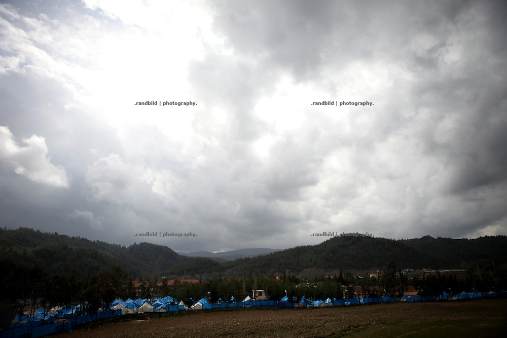 Refugee Camp for syrian people in Yayladagi, Antakya Province, Turkey