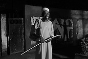 Zanzibar Town, Zanzibar -   2015-03-26  -  A recovering heroin addict leaves a Narcotics Anonymous meeting in Zanzibar Town, Zanzibar on March 26, 2015.  Photo by Daniel Hayduk