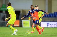 Souleymane CAMARA  - 24.01.2015 - Montpellier / Nantes  - 22eme journee de Ligue1<br />Photo : Nicolas Guyonnet / Icon Sport
