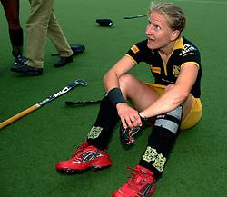 20-05-2007 HOCKEY: FINALE PLAY OFF: DEN BOSCH - AMSTERDAM: DEN BOSCH <br /> Den Bosch voor de tiende keer op rij kampioen van de Rabo Hoofdklasse Dames. In de beslissende finale versloegen zij Amsterdam met 2-0 / Janneke Schopman<br /> ©2007-WWW.FOTOHOOGENDOORN.NL