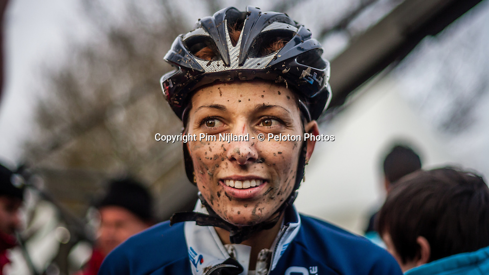 Lucie CHAINEL-LEFEVRE (26,FRA), Women UCI CX World Championships - Hoogerheide, The Netherlands - 1st February 2014 - Photo by Pim Nijland / Peloton Photos