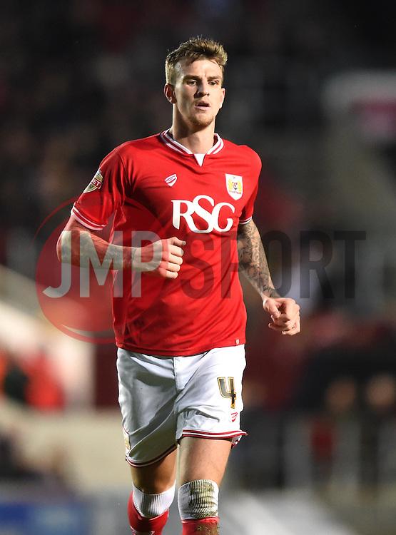 Aden Flint of Bristol City - Mandatory by-line: Paul Knight/JMP - Mobile: 07966 386802 - 19/12/2015 -  FOOTBALL - Ashton Gate Stadium - Bristol, England -  Bristol City v Queens Park Rangers - Sky Bet Championship